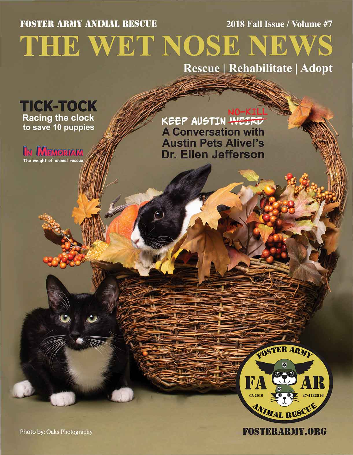 Foster Army Wet Nose News Fall 2018